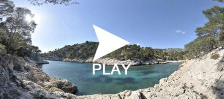 Calanque port pin Cassis